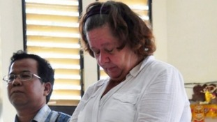 Lindsay Sandiford at a previous court hearing.