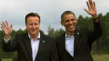 Prime Minister David Cameron and President Barack Obama in June.