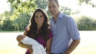 The Duke will be joined by the Duchess of Cambridge but without Prince George.