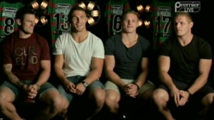 Sam, Luke and the twins Tom and George Burgess.