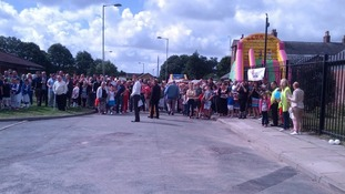 Crowds gather at opening of Rhys Jones Community Centre
