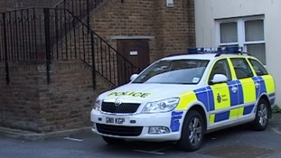 Police car in Ramsgate