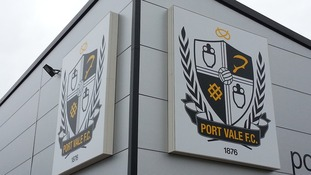 Today scenes around Port Vale Football