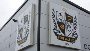 Today scenes around Port Vale Football