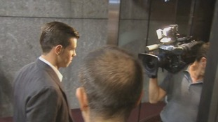 Gareth Bale arrives at a hotel in Madrid, Spain