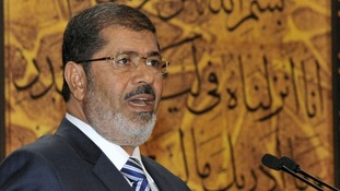 Egypt's former president Mohamed Morsi has been in detention since he was overthrown by the army