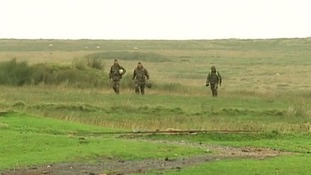 The three reservists were taking part in a selection exercise on one of the hottest days of the year