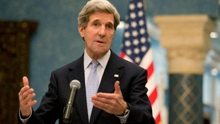 """Secretary of State John Kerry has called this America's """"Munich moment"""""""