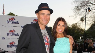 Vinnie Jones and Tanya Jones at the 7th Annual BritWeek Festival Launch Party