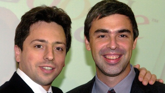 Fundadores do Google, Larry Page e Sergey Brin