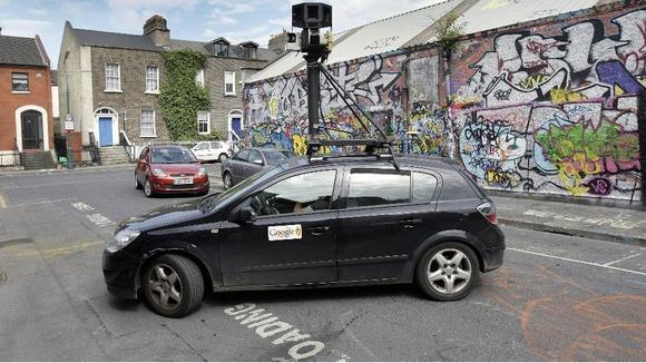 Pessoas de todo o mundo começar a manchar o carro do Google, que capta as imagens para Street View