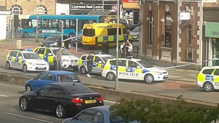 Bank robbery in Allerton, Liverpool