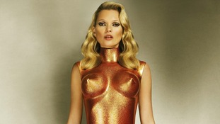 Allen Jones: Kate Moss in bronze glitter, 2013, Estimate: £20,000 and £30,000