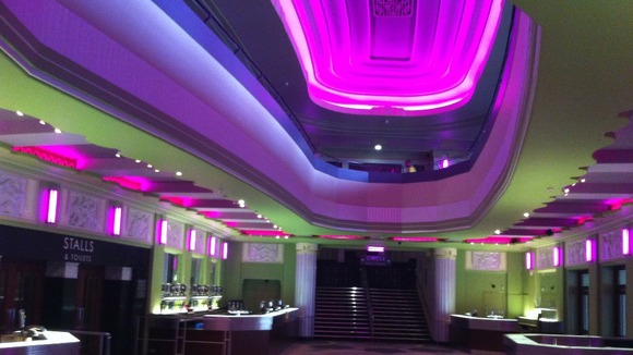 New Hammersmith Apollo bar