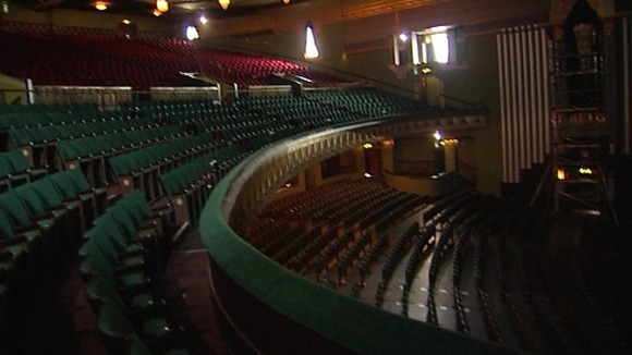 There are new seats in the stalls, while the seats in the circle have been raised and re-upholstered.Credit: ITN