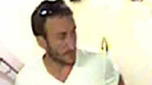 CCTV image of one of the men police want to speak to