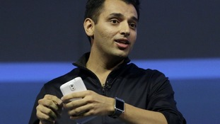 Samsung's Pranav Mistry describes how the Galaxy Gear will work with and can control features on other Samsung devices.