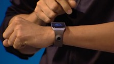 Samsung unveil the new Galaxy Gear.