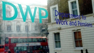 The Department for Work and Pensions in Whitehall, London