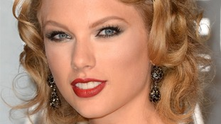 US country singer-songwriter Taylor Swift