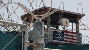Guard tower at Guantanamo Bay