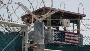 Guard tower at Guantanamo Bay