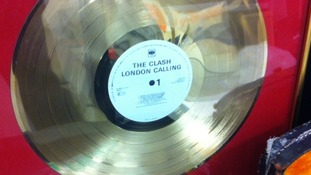 'London Calling' gold disc