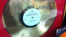 'London Calling' gold disc