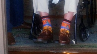 George Bush's 'western cactus' socks