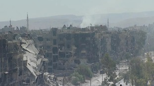 War silences suburb of Damascus fought to oblivion