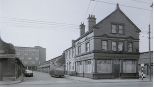 George was murdered outside his pub, the Fox & Grapes in Southwell Road, Nottingham