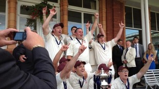 Pictures: Cleator's dream day at Lord's