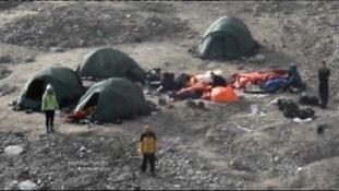 Scene at Svalbard