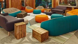 The Big Brother house.