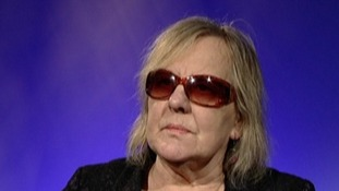 Creator of the Adrian Mole books Sue Townsend will visit Mansfield today to raise awareness of how blind people can enjoy books.