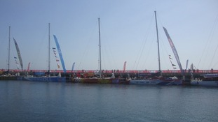 The Clipper fleet in Brest