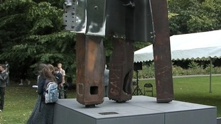 Boris Johnson unveiled the sculpture in Battersea Park two years ago