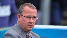 Sacked Carlisle manager Greg Abbott.