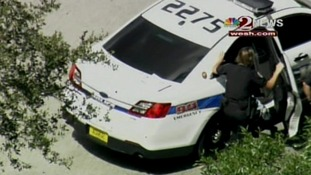 Police were called to an address in Florida and George Zimmerman was detained.