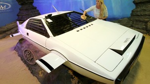 The adapted Lotus Esprit sold for £550,000.