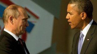 Russian President Vladimir Putin spoke to US President Barack Obama on the sidelines of the G20 summit.