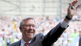 Former Manchester United boss Sir Alex Ferguson.