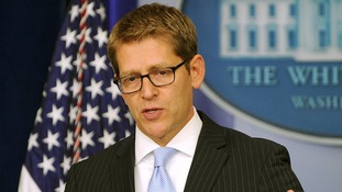 White House press secretary Jay Carney.