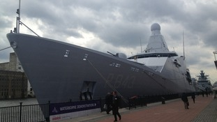 New Dutch stealth ship HNLMS Groningen