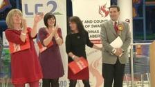 Labour celebrate in Newport