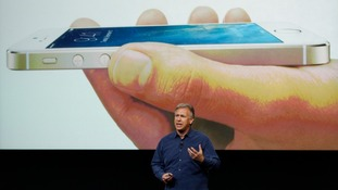 The iPhone 5S comes in three colours