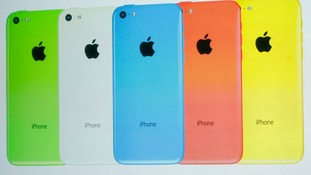 Apple's new 'budget' phone - the iPhone 5C