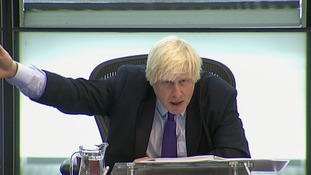 Boris Johnson at Mayor's Question Time
