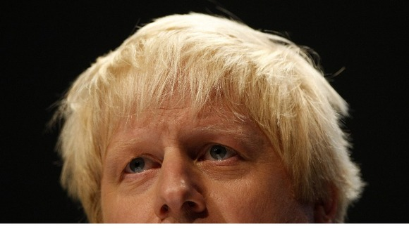 Conservative Mayoral candidate Boris Johnson