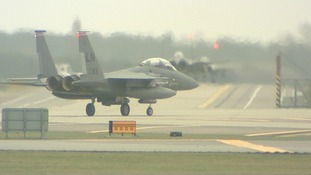 F15 aircraft at Lakenheath